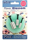PME Blossom/Forget Me Not Aluminium Plunger Cutters, Small, Medium, Large Sizes, Set of 3