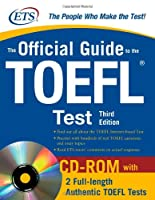 The Official Guide to the TOEFL iBT, 3rd Edition Front Cover