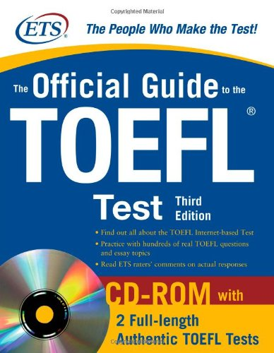 The Official Guide to the TOEFL iBT, 3rd Edition by Educational Testing Service, Publisher : McGraw-Hill