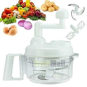 Spiral Vegetable & Fruit Slicer Spiralizer Chopper Mandolin Cutter Shred Peeler