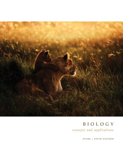 Biology: Concepts and Applications (Cloth with InfoTrac and CD-ROM) (Brooks/Cole Biology Series)