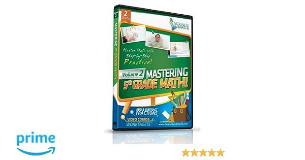 Amazon.com: Mastering 5th Grade Math - Vol 2 - Add and Subtract ...
