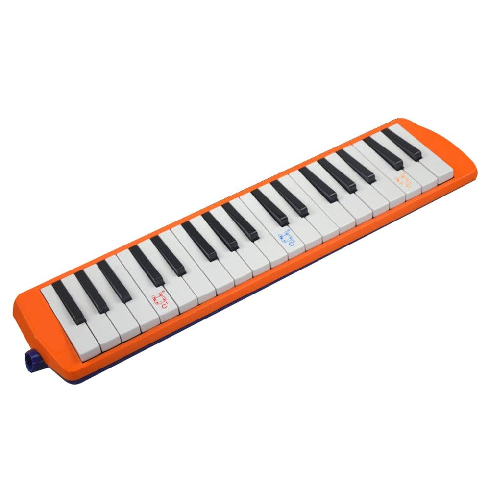 Melodica Musical Instrument 36 Keys Keyboard Cartoon Style Piano Melodica with Portable Carrying Case Kids Musical Instrument Gift Toys for Kids Music Lovers Beginners Mouthpieces Tube Sets for Music by Kindlov-mus (Image #3)