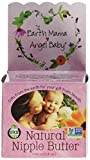 Earth Mama Angel Baby Natural Nipple Butter, 2 oz Jars, Pack of 3