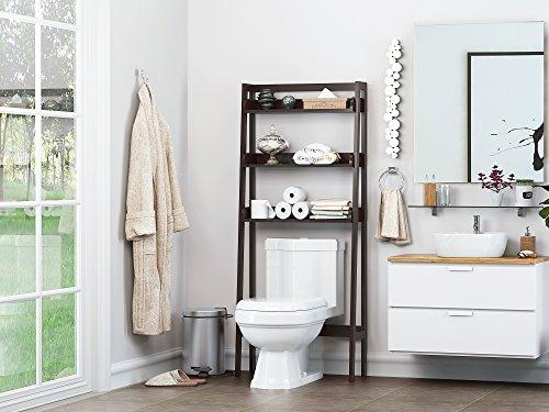 stunning bathroom shelves over toilet storage | UTEX 3-Shelf Bathroom Organizer Over The Toilet, Bathroom ...