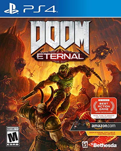 Doom Eternal - PlayStation 4 [Amazon Exclusive Bonus]