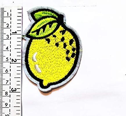Parche para camiseta, con diseño de frutas amarillas y limón, para ...