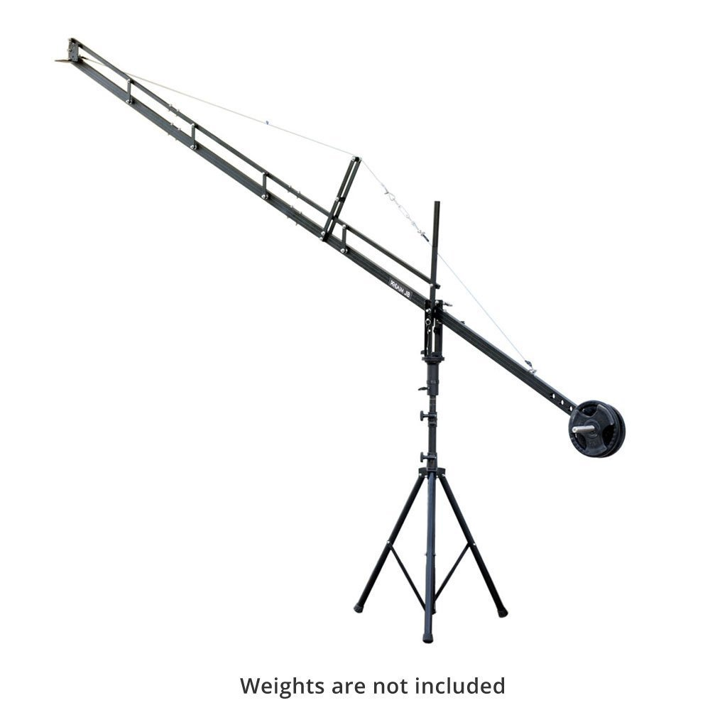 PROAIM™ 14ft. Jib Arm with Jib Stand Supporting Cameras weighing upto 6.8 kg / 15 lbs (P-14-JS   B00O4WKNHU