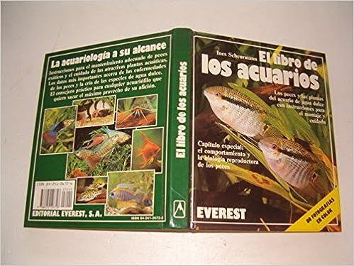 El libro de los acuarios: Inés Scheurmann: 9788424126728: Amazon.com: Books