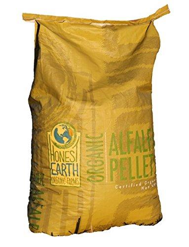 Organic Horse Feed, Oasis Organics Alfalfa Pellets 50lbs -