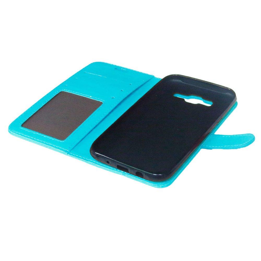 Karten Slot Foto Wallet H/ülle 5,0 Zoll Nancen Compatible with Handyh/ülle Galaxy J5 // SM-J500F Lederh/ülle Neu Style Acht Farbe Weich PU Flip Case Ledertasche//Schutz Etui