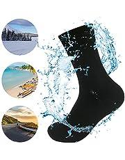 WATERFLY Wasserdichte Socken für Herren und Damen, Professionelle Trekking Tracing Breathable Knöchel Länge Socken Unterwasser für Sport Im Freien Wandern Reisen Klettern Laufen Motorrad