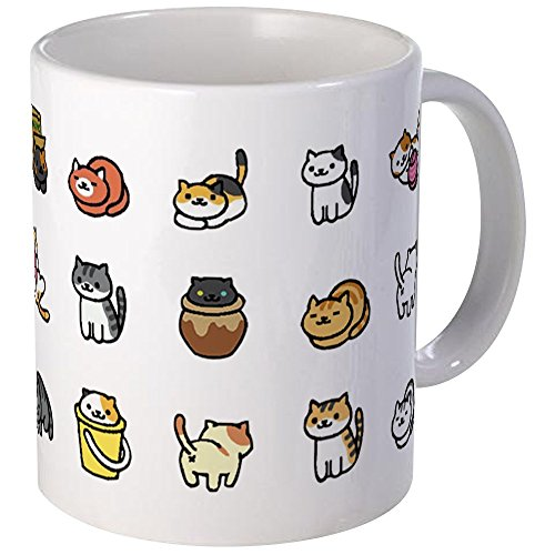 CafePress Neko Atsume Mugs Unique Coffee Mug, Coffee Cup (Neko Atsume Best Items)