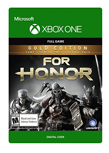 For Honor: Gold Edition (Includes Extra Content + Season Pass subscription) - Xbox One Digital Code by Ubisoft