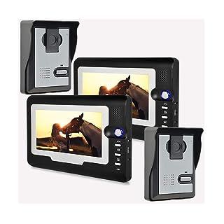Inteligente Video Puerta Teléfono Timbre De La Puerta Intercomunicador Sistema De Entrada Cámaras De Inducción Inteligentes/Monitoreo De Cuerpo Humano/Alimentación: AC220V - 50Hz DC15V 1.2A YUN Video Doorbell@