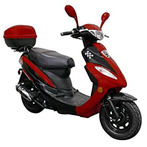SSR | EUROPA DELUXE 50 50cc Scooter Moped - CARB Compliant