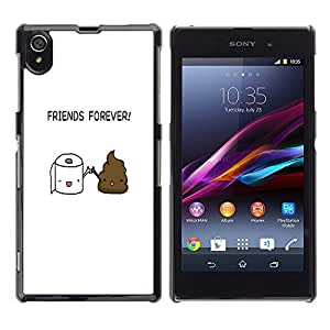 Ihec Tech AMIGOS IMPULSO ASEO - DIVERTIDO / Funda Case back Cover guard / for Sony Xperia Z1 L39