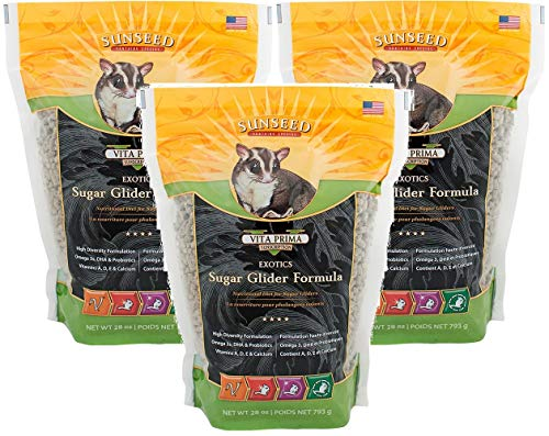 (Sun Seed Quiko Sugar Glider Food, 28-Ounce (Pack of 3))