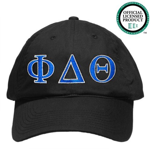 Phi Delta Theta (Phi Delt) Embroidered Nike Golf Hat, Various Colors