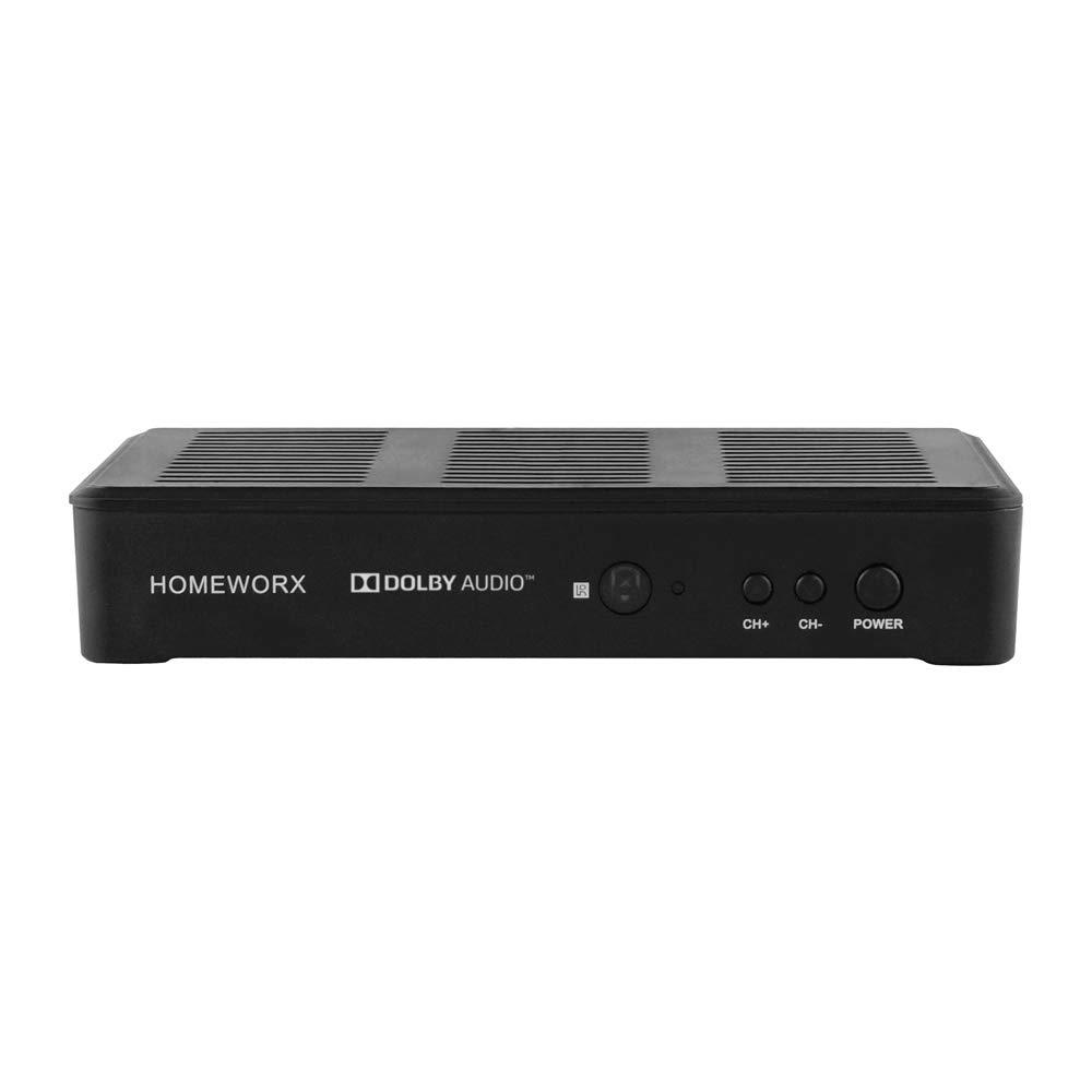 Mediasonic HomeWorx ATSC Digital Converter Box with TV Tuner and TV Recording Function (HW180STB-Y18RV2)