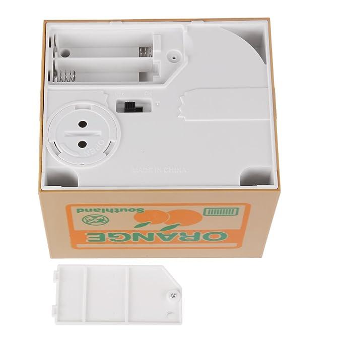 Amazon.com: PKRISD - Hucha automática para niños, diseño de ...