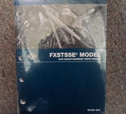 2009 Harley Davidson FXSTSSE Parts Catalog Manual FACTORY OEM BOOK NEW 09 (2009 Harley Catalog)