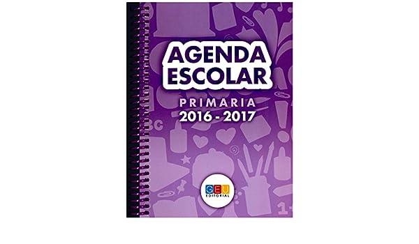 Agenda Escolar 2016/2017. Primaria (Espiral): 8436548131494 ...