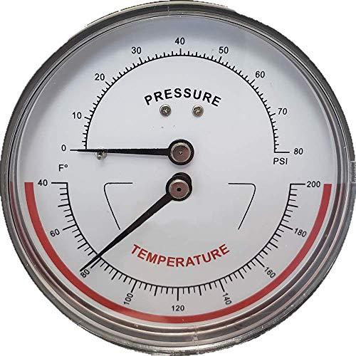 dial temperature gauge - 2