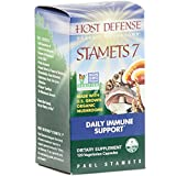 Host Defense - Stamets 7 Capsules, Multi Mushroom Support for Immune Response, 120 Count (FFP)