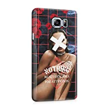 Nothing Beautiful Asks For Attention Sexy Naked Brunette Girl Plastic Phone Snap On Back Cover Shell For Samsung Galaxy Note 5