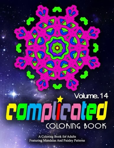 COMPLICATED COLORING BOOKS - Vol.14: Women Coloring Books For Adults (Volume 14)