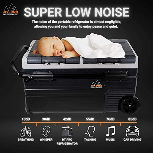 Portable Fridge - Baby Sleeping On Top Of Portable Fridge - Keto Diet Motivation
