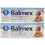 Balmex Diaper Rash Cream 4 Oz. 2 Pack