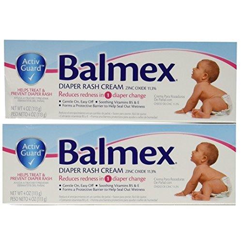 - Balmex Diaper Rash Cream 4 Oz. 2 Pack