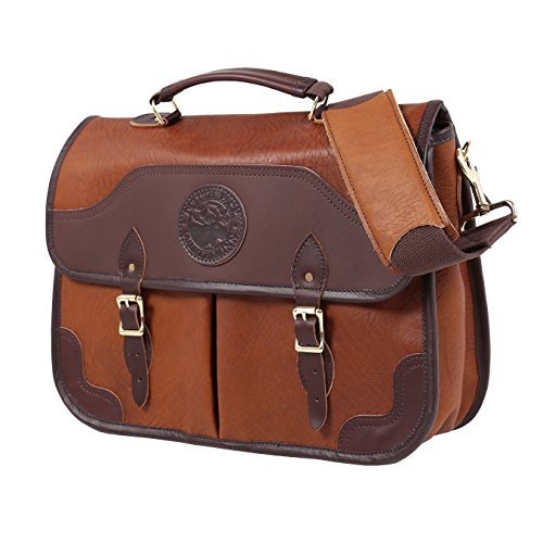Duluth Pack Executive Portfolio Bison Leather (Brown)