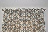 Honeycomb Design Grommet Top Curtain Panels - Premier Prints Magna Cadet