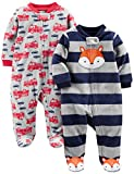 Simple Joys by Carters Boys 2-Pack Fleece Footed Sleep and Play