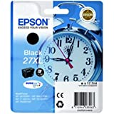 Epson Alarm Clock No.27 XL Series High Capacity Ink Cartridge - Black