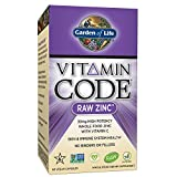 Garden of Life Zinc Vitamin - Vitamin Code Raw Zinc Whole Food...