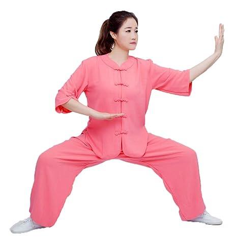 HUI Tai Chi Traje Mujer Maschi Transpirable Algodón Estilo ...