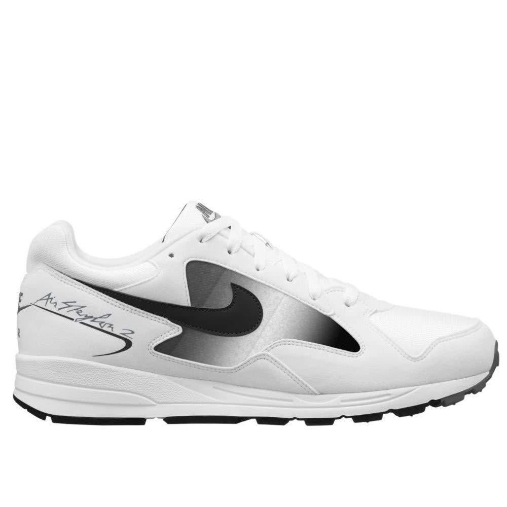Nike Air Skylon II, Hausschuhe de Running para Hombre MultiFarbe (Weiß schwarz Cool grau 101)