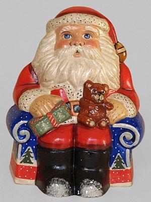 Starlight Santa 2008 Chalkware Figure