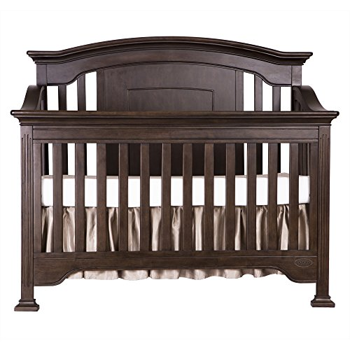 Evolur Sawyer 5-in-1 Convertible Crib, Cafe Noir Review