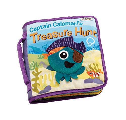 Lamaze Captain Calamari's Treasure Hunt - Animals Cloth Books
