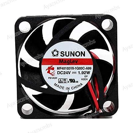 Ayazscmbs Compatible para SUNON MF40102VX-1Q03C-A99 4010 ...