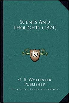Scenes and Thoughts (1824)