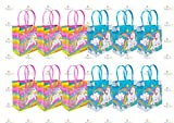TINYMILLS Unicorn Party Favor Bags Treat Bags, 12 Pack