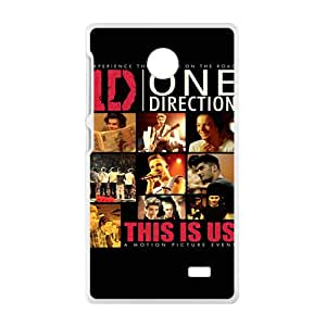 One direction Phone Case for Nokia Lumia X Case