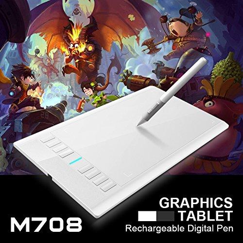 ugge-m708-digital-tablet-graphics-drawing-tablet-pad-w-pen-2048-level-digital-pen-plot-area-106-inch