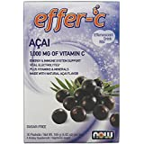 NOW Acai Berry Effer-C Dietary Supplement, 30 Count